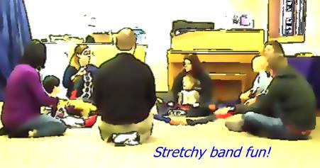 Stretchy band fun